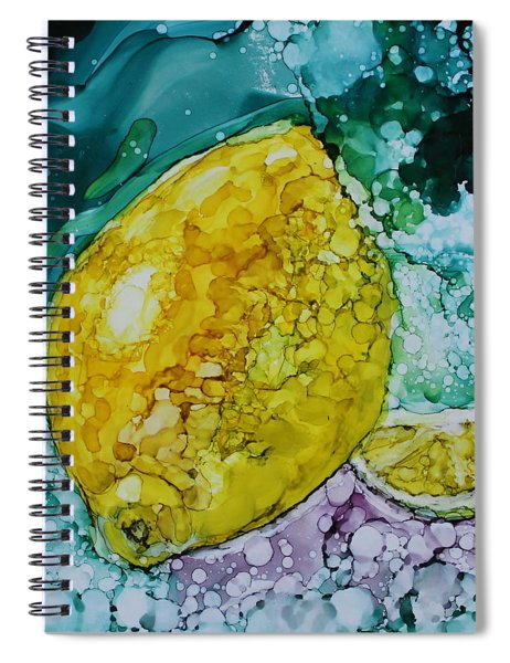 lemon/Lime Spiral Notebook