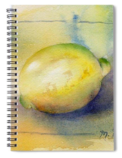 Lemon Spiral Notebook