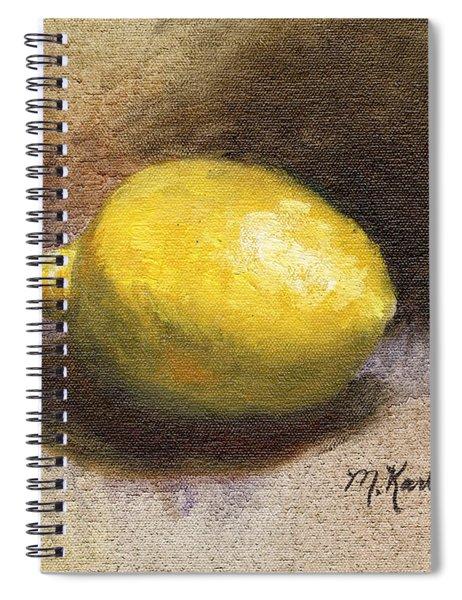 Lemon Still Life Spiral Notebook