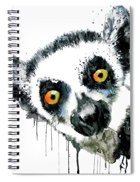 Lemur Head  Spiral Notebook