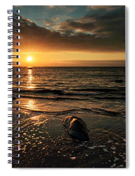 Lendalfoot Sunset Spiral Notebook