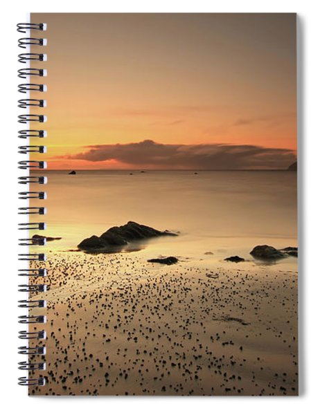 Lendalfoot Sunset Ref8962 Spiral Notebook