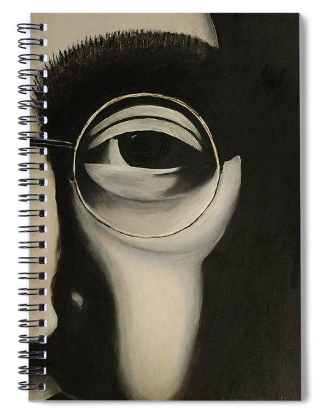 Lennon's Left Eye Spiral Notebook