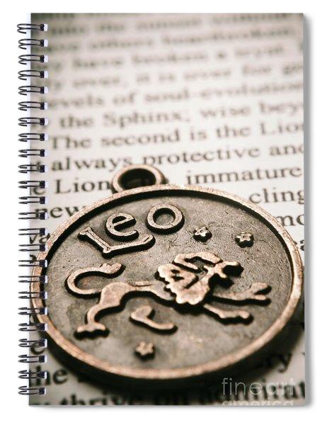 Leo The Token Lion Spiral Notebook