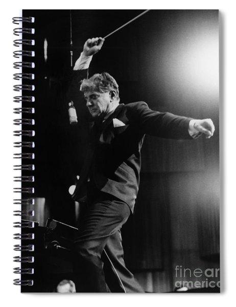 Leonard Bernstein Spiral Notebook