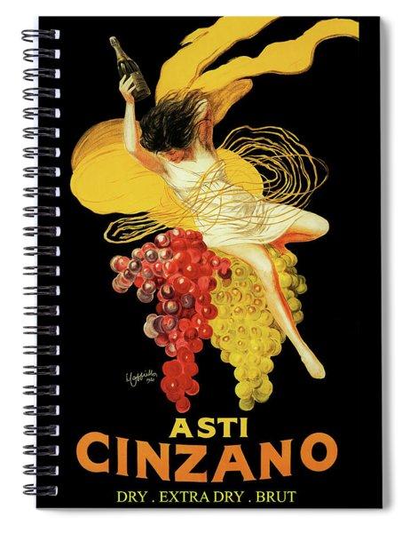 Leonetto Cappiello - Asti Cinzano Spiral Notebook