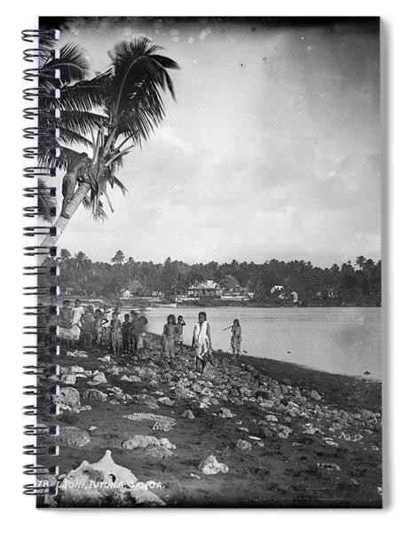 Leoni, Tutuila, Samoa, Photographed In Tutuila, Samoa, Published By Kerry And Company, Sydney, New Spiral Notebook