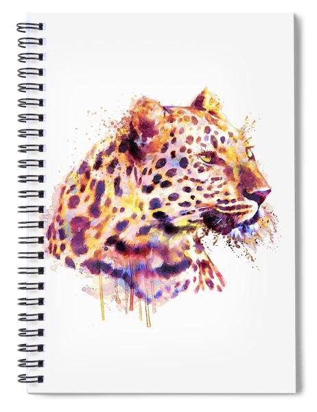 Leopard Head Spiral Notebook