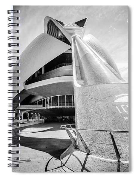 Les Arts, Valencia, Spain. Spiral Notebook