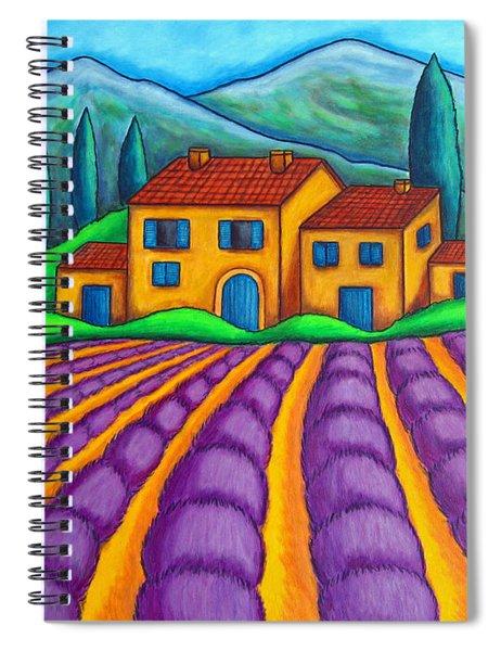 Les Couleurs De Provence Spiral Notebook