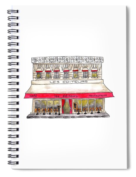 Les Editeurs Spiral Notebook