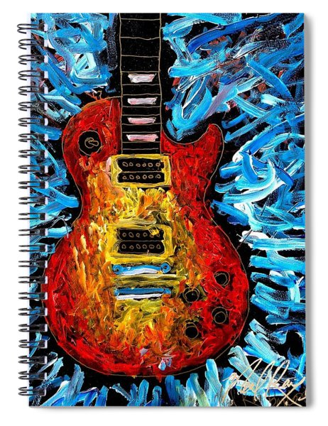 Les Paul Explosion Spiral Notebook