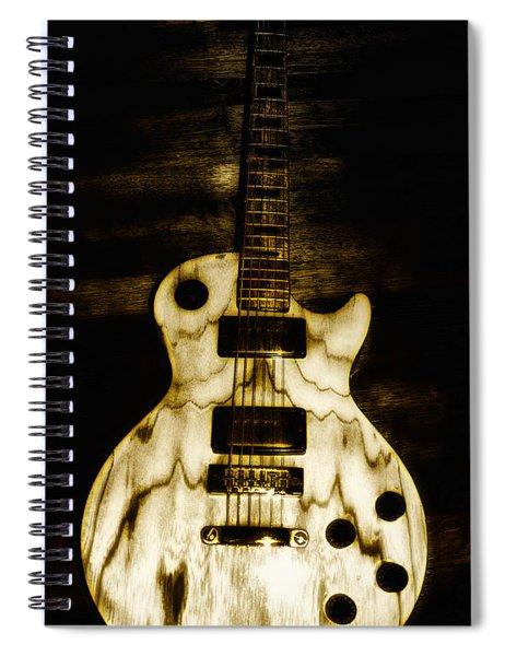 Les Paul Guitar Spiral Notebook
