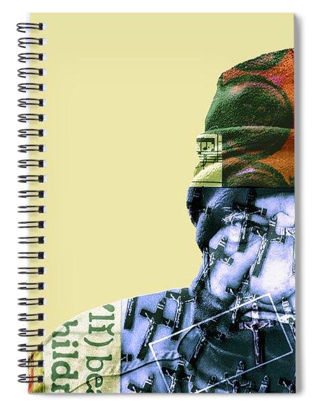 Les Talismans De Temps Spiral Notebook