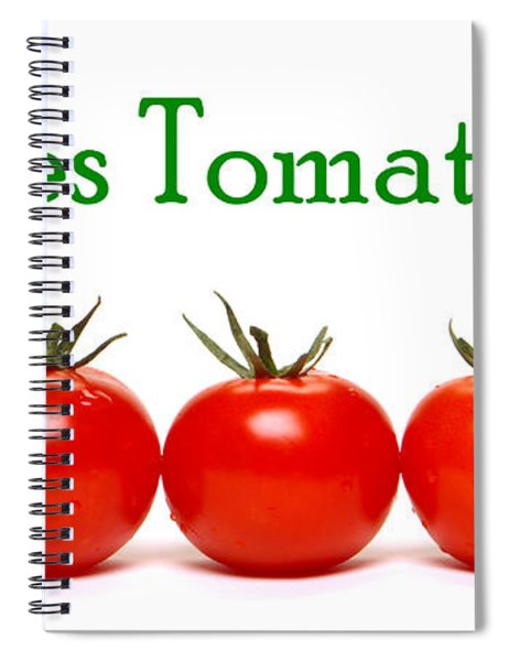 Les Tomates Spiral Notebook