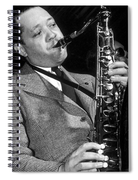 Lester Young  Spiral Notebook