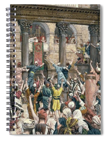 Let Him Be Crucified Spiral Notebook