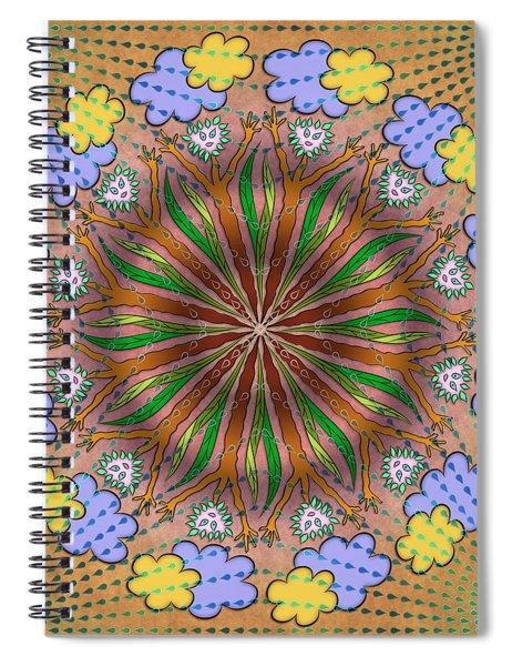 Let It Rain Spiral Notebook