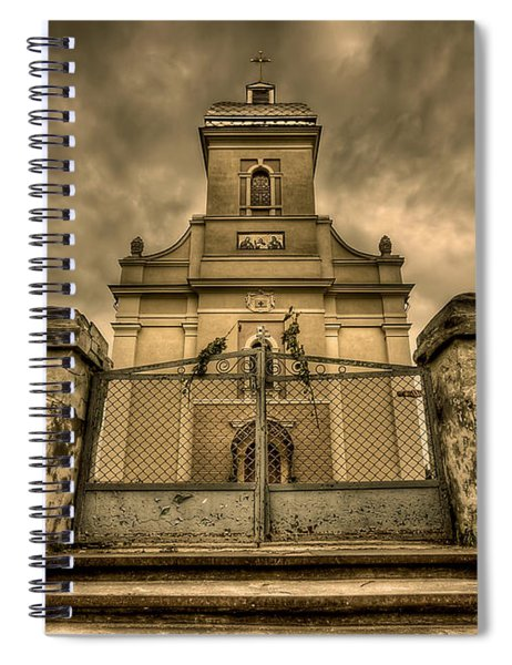 Let Love In Spiral Notebook