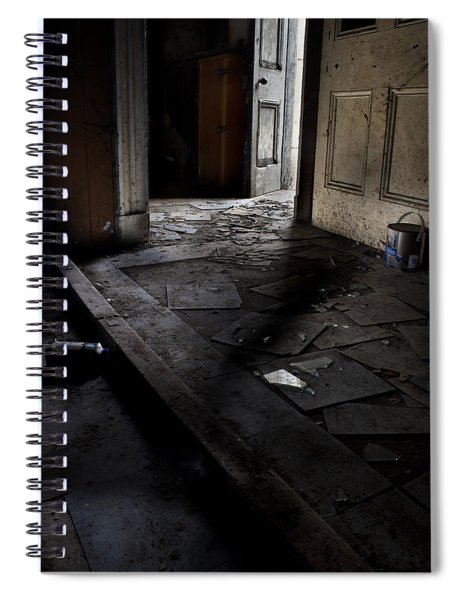 Let The Light In. Spiral Notebook