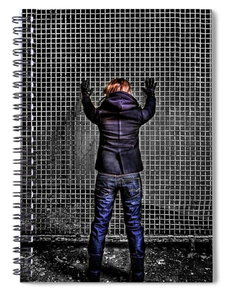 Let Your Wall Fall Down Spiral Notebook