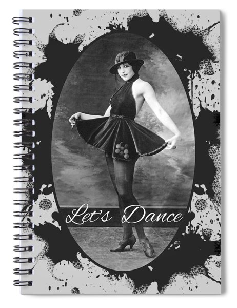 Lets Dance Spiral Notebook