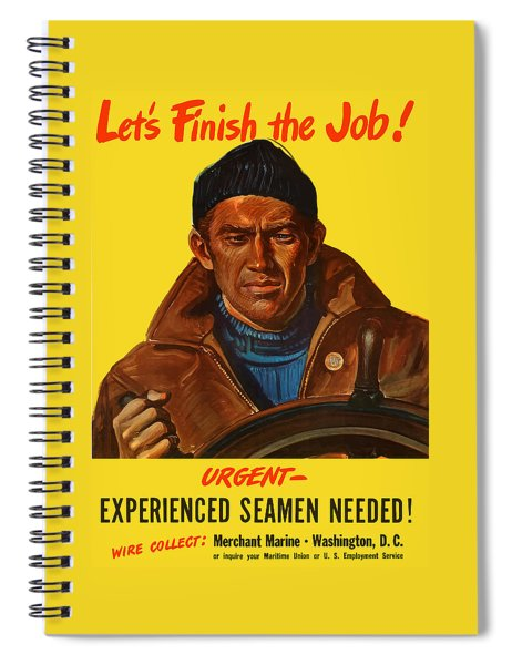 Let's Finish The Job Spiral Notebook