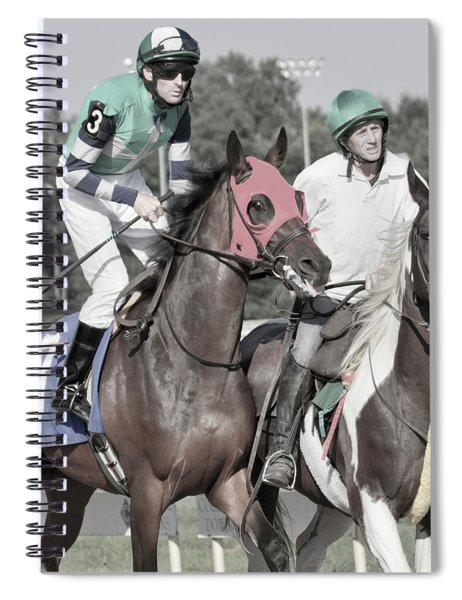 Let's Get'um To The Gate Spiral Notebook