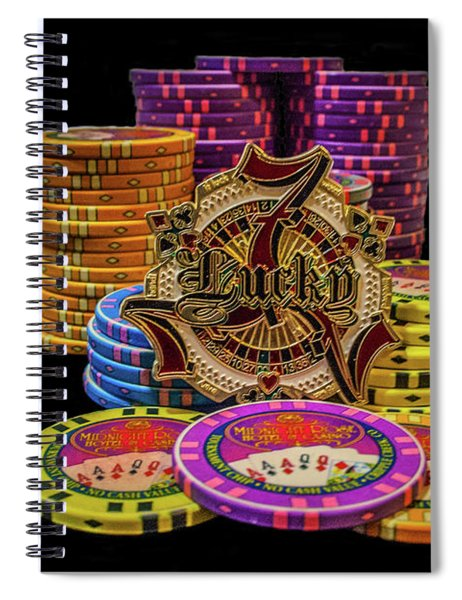 Lets Play Poker Spiral Notebook