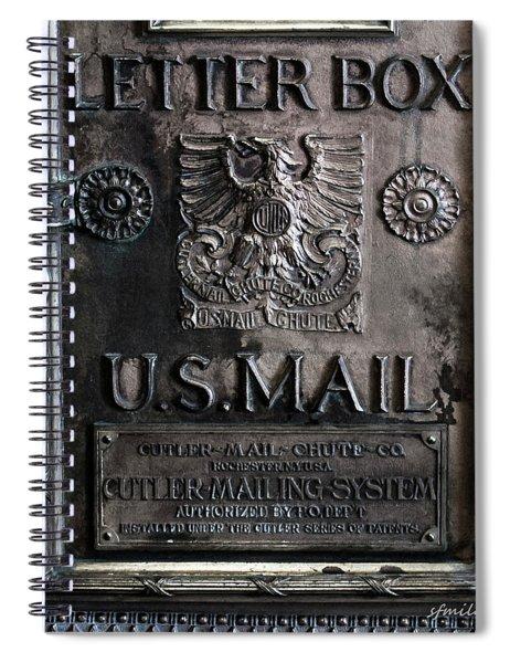Letter Box Drop Spiral Notebook