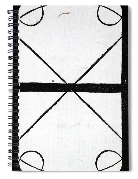 Letter H Spiral Notebook