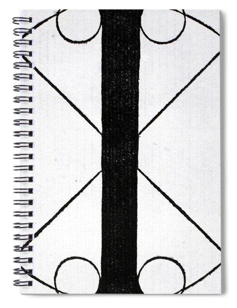 Letter I Spiral Notebook