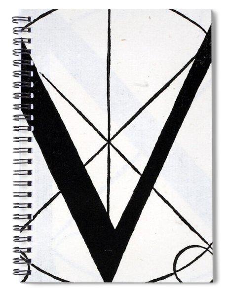 Letter M Spiral Notebook