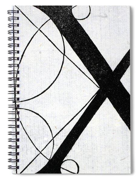 Letter X Spiral Notebook