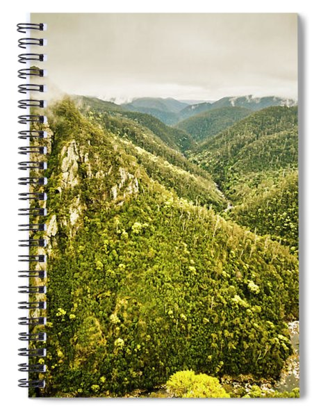 Leven Canyon Reserve Tasmania Spiral Notebook