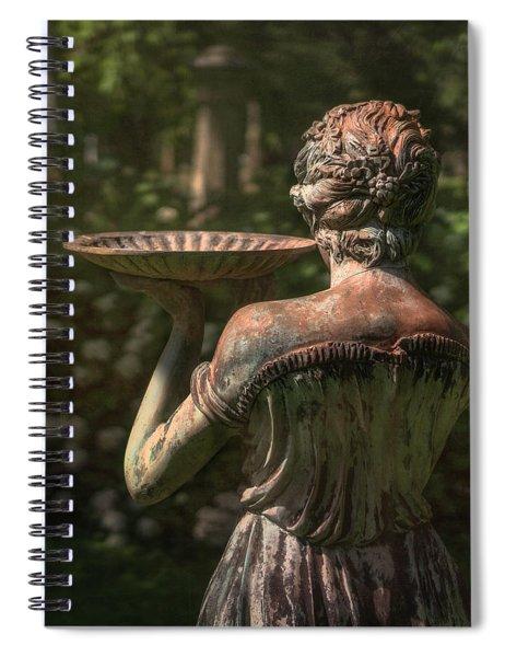 Lexington Bird Lady Spiral Notebook