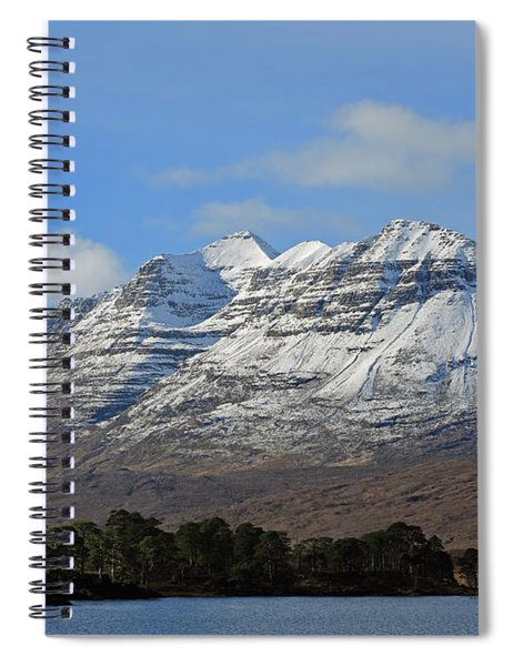 Liatach And Loch Clair Spiral Notebook