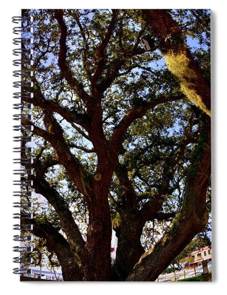 Liberty Oak Harbour Town Hilton Head Sc Spiral Notebook