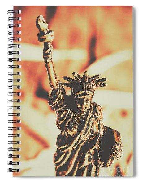 Liberty Will Enlighten The World Spiral Notebook