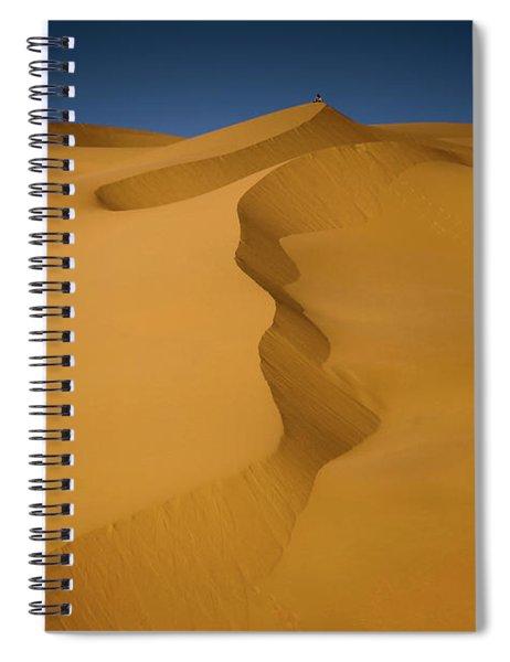 Libya Dunes Spiral Notebook