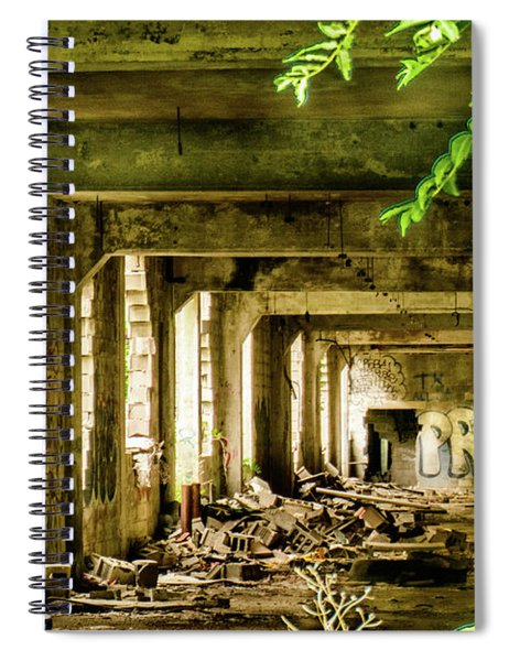 Life Among The Ruins Spiral Notebook