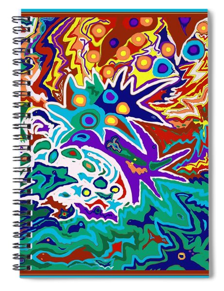 Life Ignition Option 2 With Borders Spiral Notebook
