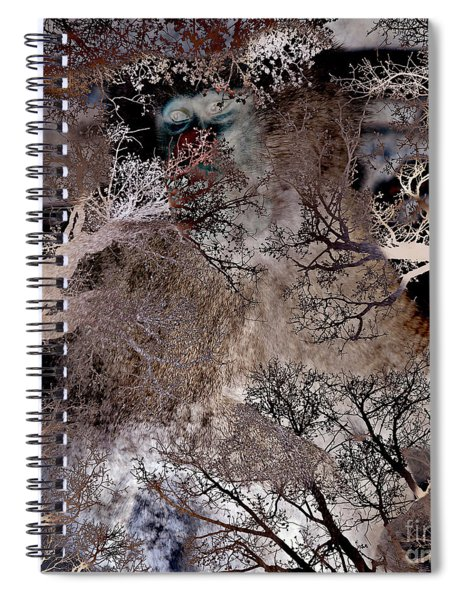 Life In A Bush Of Ghosts Spiral Notebook