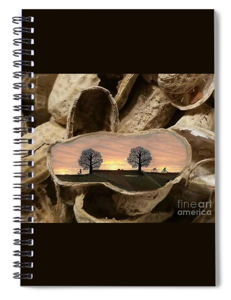 Life In A Nutshell Spiral Notebook