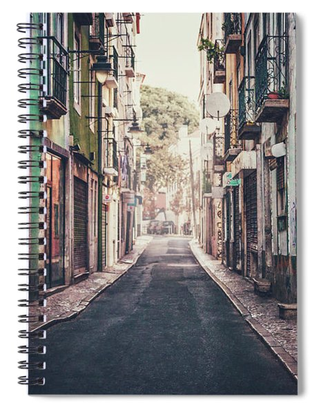 Life In Color Spiral Notebook