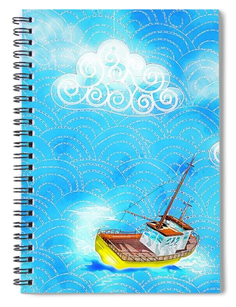 Life Is A Great Adventure Spiral Notebook