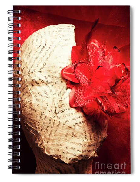Life Review In Death Spiral Notebook