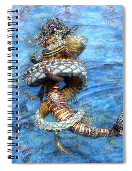 The Princess And The Dragon Spiral Notebook