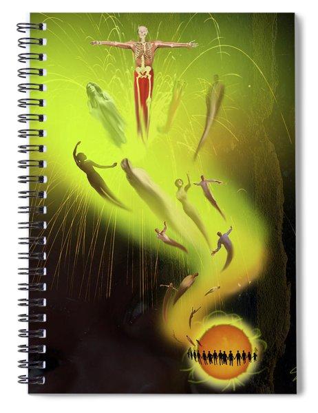 Lifedeath Spiral Notebook
