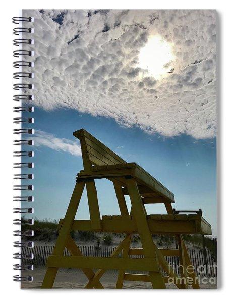 Lifeguard Chair Spiral Notebook